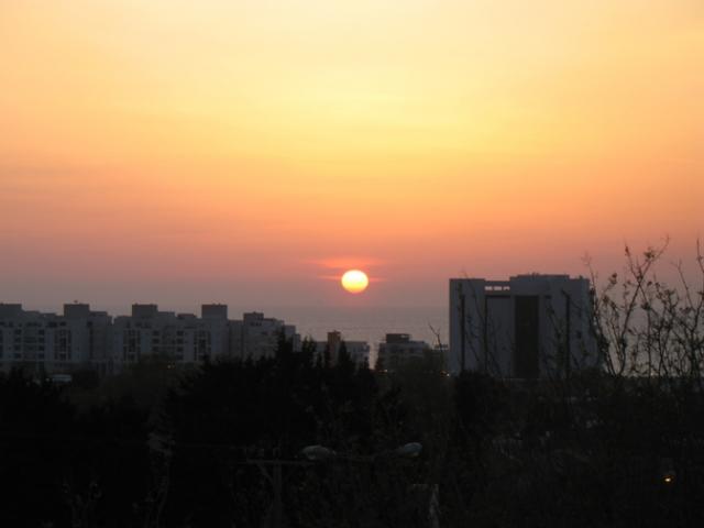 sunset afridar, Ashqelon