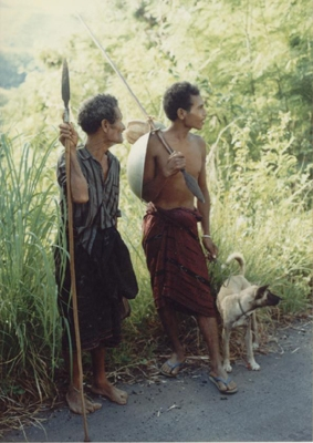 Hunters - father and son SULAWESSI