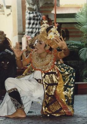 Barong Balenese Dancing