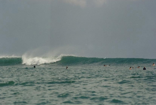 Kuta Reef - Perfect swell