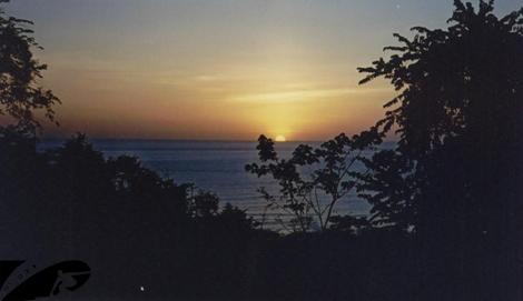 Sunset at Santa Teresa