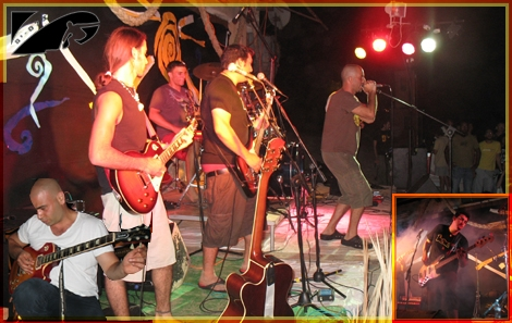 "Rock on the beach - ""The Blue Elephant""...They go beyond good music"