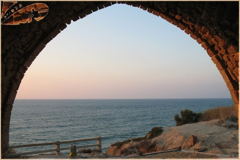 "House on Shore - Arc over sea"" - Ashqelon Sep 07"