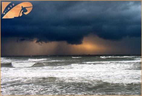 The collors of storm - Ashqelon Jan 2008
