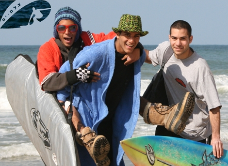 Happy colorfull people with surfboard... all the way from the desert city of Arad! - Now on Poeple gallery