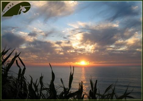 Goldaen Sunset over Ashqelon beaches - March 2008