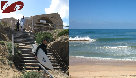 "Kever  Ha-Sheich is back to live - everyone's back to the big waves  ""house"" - Ashqelon"