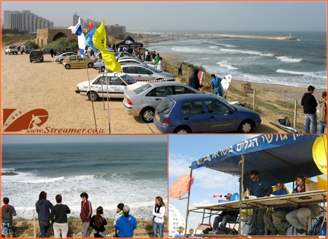 After 2 long years of absence from Ashqelon local beach, The surfing competition w'ill be back on this Friday September 19th 2008 at Yamia beach. This Mosaics photos were taken on the last competiton that was held in Ashqelon April 2006, Kever Ha-Sheich beach.