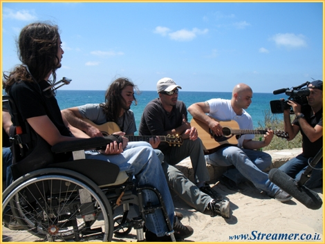 <p><strong>The talented local rock band, The Blue Pill, was gathered at heir natural habitad.. the beach. this is where it all begin, the song about the ocean the spirit of the surfers. the song Jasmine is listed 1st a the Israeli&nbsp;top 50&nbsp;charts. </strong></p>