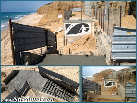 <span>the stairs leading to gute beach in ashqelon are fixed. 2 days to repair, 2 years we've waited.&nbsp; </span>
