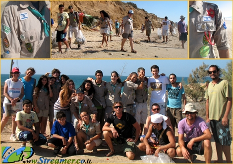"<font color=""#008000"">The green scouts - Streamer's beach clean-up project at gute beach shqelon Aug 14th was succesful and unique. The scout  from Ashqelon tribe joined us with great esteam and forces. 30 people men and women cleaned the long strech of beach and collected many ecological and Enviormental threats. Click here to <a href=""http://streamer.co.il/live"">watch Clip</a> </font><font color=""#008000"">and</font><font color=""#008000""> <a href=""http://streamer.co.il/gallery/cat/gute_beach_clean-up_project_-_14__8/"">photos.</a>  article will be available soon - Special thanx to all Volonteers participated in this initiative - RESPECT!!!</font>"