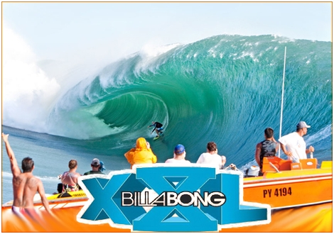 <strong>Shane Dorian drilling Tahiti. One of the promising finalists at the Billabong Big wave awards.</strong>