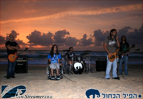 "<div align=""center""><font color=""#0000ff""><strong>the Blue Pill band are playing on the North Shore of Ashkelon May 23rd 2010. The band was shooting a clip to one of their famouse song. Photos will be aploaded in 2 weeks, once the Clip will be released ;-)</strong></font><br /></div>"