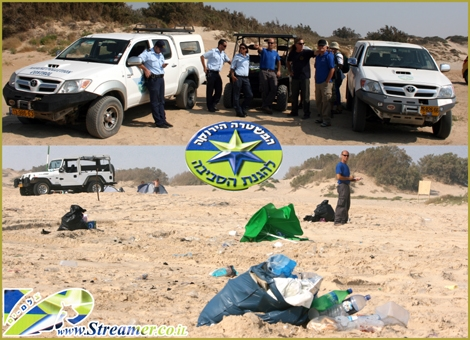 "<div align=""center""><strong>On Saturday July 24th 2010 a Green beach survaillance project was conducted at Nitzanim beach until Ashdod. <a href=""http://streamer.co.il/articles/view/78/"">Click here to watch the clip and Photo Gallery</a></strong><br /></div>"