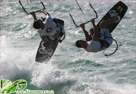 <strong>This is the best season for kitesurfers in Israel... Northern 20 knots winds are frequent this time of year. Click on main photo to watch the kitesurf gallery Sep 28th 2010</strong>