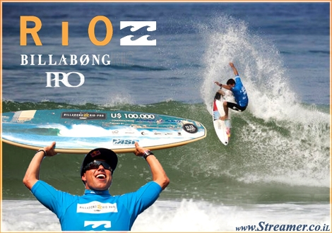 "<font color=""#333333""><strong><font color=""#ff0000"">Adriano de Souza</font> (BRA), 24, has won the Billabong Rio Pro over Taj  Burrow (AUS), 32, in tricky two-to-three foot (1 metre) waves at Barra  Da Tijuca and the win catapults the Brazilian atop the ASP World Title  Rankings. click here to <a href=""http://streamer.co.il/news/view/252/"">read the overall article along with photos and celected clips</a></strong></font>"