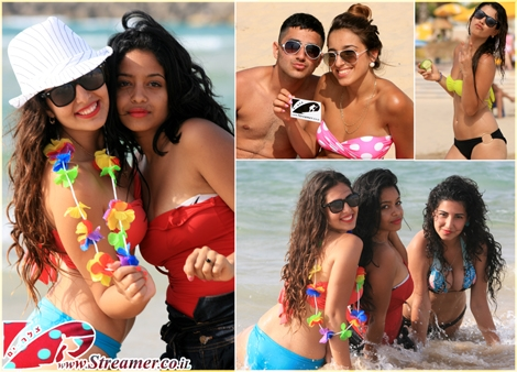 "<font color=""#333333""><strong>There's nothing like the sea to cool your senses down on a hot sunny day...! Colors of Summer on the month of May. Click on main photo to watch the HUGE gallery of Sexy Beautiful people at Dalila beach Ashqelon 27.05.2011</strong></font>"