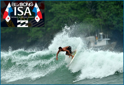 "<font color=""#333333""><strong>More than 200 of the world&rsquo;s best surfers from over 28 countries will descend upon Panama&rsquo;s beautiful Playa Venao to compete in the Billabong ISA World Surfing Games presented by Panama. In the photo: <font color=""#FF0000"">Jeremy Flores</font> Rrance's team. The event is From June 26th - July 2nd 2011. <a href=""http://streamer.co.il/admin/בין התאריכים 26.06-02.07"">All details in the next link</a></strong></font>"