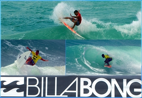 "<font color=""#333333""><strong>The next generation in Israel shows high quality surfing skills. <font color=""#FF0000"">Tal Asayag </font>from Ashdod is rippin' the waves at the Billabong Juniors Pro in Haifa June 28th 2011</strong></font>"