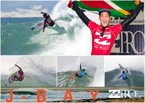 "<font color=""#333333""><strong>Jordy Smith wins the Billabong pro at J bay south Africa. The Australian, Mick Fanning came in second place. Click here to <a href=""http://streamer.co.il/news/view/266/"">read the summery article</a>.</strong></font>"