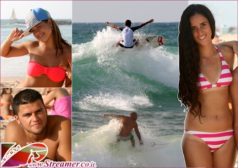 """<font color=""""#333333""""><strong>Walking along the beaches of Ashqelon and photographing the sports activities - Friday July 29th 2011. Click on main photo to watch the Spicy mix album of surfers and good looking people</strong></font>."""