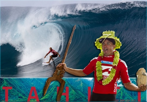 "<font color=""#003366""><strong><font color=""#ff0000"">Kelly Slater</font>, 10 times world surfing champion, wins the Billabong Pro Tahiti 2011. Slater is currently ranked 1st in the ASP world title. Click here to <a href=""http://streamer.co.il/news/view/273/"">watch celected photos and videos</a></strong></font>"