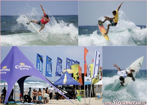"<font color=""#003366""><strong>Two days of surfing competitions in Neatania - ISA Juniors and Open - 30+31st 2011. Click here to <a href=""http://streamer.co.il/news/view/275/"">watch the photo album</a></strong></font>"