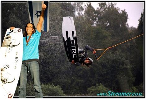 "<font color=""#003366""><strong>The Israeli surfing comunity is proud of <font color=""#FF0000"">Lior Sofer</font>'s achievement - Lior has won the European Cable Wakeboard championship in Servia on September 2011. <a href=""http://streamer.co.il/news/view/276/"">Click here to read the article</a></strong></font>"