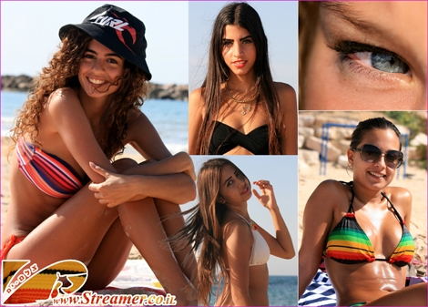 """<font color=""""#003366""""><strong><font color=""""#cc00cc"""">Hot days at the beach...!</font> The good looking girls reflect the true colors of the sea. Click on main photo to watch the new album of people at Ashqelon beach 09+10.10.2011</strong></font>"""