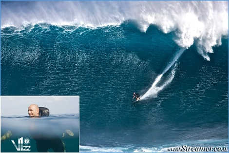 "<font color=""#003366""><strong>In February 2010, <font color=""#FF0000"">Shane Dorian</font> chased a winter a massive swell at Maverick&rsquo;s. On one of the waves he lost his balance, and the crashing   mountain of water pushed him deep below the surface. This incident got him to invent with Billabong the first ever inflating wet suit - The V1. <a href=""http://streamer.co.il/news/view/291/"">Click here to read</a></strong></font>"
