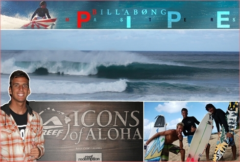 "<font color=""#003366""><strong><font color=""#e00000"">The Billabong Pipe Masters</font> is the final event of the ASP Men&rsquo;s World Tour. The event will take place at the</strong></font><font color=""#003366""><strong><strong> Banzai  Pipeline in memorial to <font color=""#e00000"">Andi Irons</font> beteen starting 8 Dec 2011. The Israeli corespondent Gil Keren is there to follow the event. <a href=""http://streamer.co.il/news/view/294/"">Click here to read more</a></strong></strong></font>"