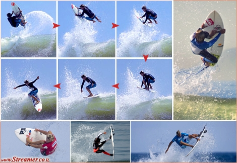 "<font color=""#003366""><strong>Gorkin, Kerrupt, Hail Marry, Flynsone, Rodeo and Superman-Air are some of the names given to the best and most radical airials ever pulled in surfing. <a href=""http://streamer.co.il/clips/cat/best_of_arials/"">Click here to watch the Best of Air collection</a></strong></font>"