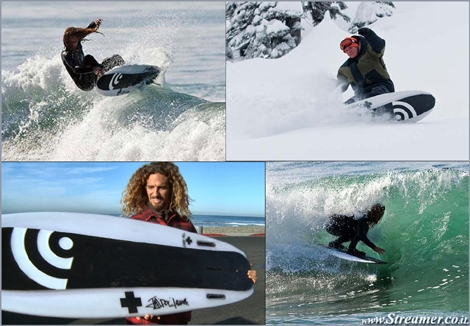 "<strong><font color=""#d60000"">Between Surfboard and Snowboard meet the &quot;Fish out of water&quot;</font><font color=""#003366"">. Test pilots Rob machado and Curtis Ciszek are sharing their first time experience on the Snurfboard prototype. </font><a href=""http://streamer.co.il/news/view/315/"">Click here to watch and read more</a></strong>"