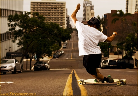 "<font color=""#003366""><strong>Skateboard, but Looong...! <font color=""#c10000"">Longboard Skateboard</font> is the closest thing to the feeling of surfing. A pure genuine fun combined with cool style and great way to get rid of the left over Adrenaline rush. In the next article we'll go for a ride and experience the never ending wave with the</strong><strong> longboard skateboard</strong><strong> - <a href=""http://streamer.co.il/articles/view/126/"">Click here to read</a></strong></font>"