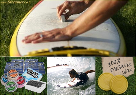 "<font color=""#003366""><strong><font color=""#b70000"">The  surfboard wax is the first bond connecting between surfer and his board.</font>&nbsp; The wax will help stop you from sliding off your board or by lying on your board while paddling. <a href=""http://streamer.co.il/articles/view/127/"">Click here to read all about surf wax</a> and the <font color=""#008000"">Green Fix</font> enovation enviornmental wax. </strong></font>"
