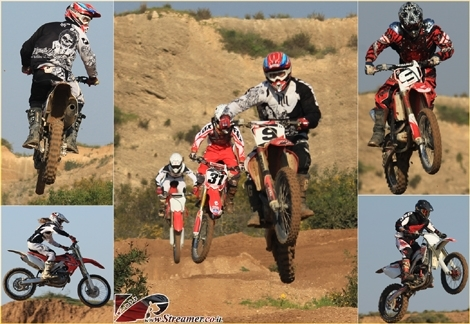 "<font color=""#003366""><strong>Every weekend a large group of motorcyclists gather at the <font color=""#b70000"">Motocross course in north Ashqelon.</font>  with full speed they're Jumping on ramps high up in the air, wipping  with their tail and move on to the next acrobatic manouver. Click on  main photo to watch the motocross album from Friday <a href=""http://streamer.co.il/gallery/cat/motoric_album/"">23.03.2012</a></strong></font>"