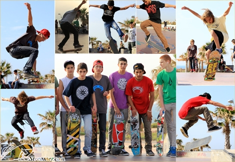 "<font color=""#003366""><strong><font color=""#ad0000"">Skateboarding session</font>. On Sunday, April 1st 2012, Skatepark Ashqelon was on fire...! Proffessinal and local skateboarders competed in a various tricks and manouveres. Click on main photo to <a href=""http://streamer.co.il/gallery/cat/new_year_at_the_skatepark_with_team_gilis#G"">watch the album</a>.</strong></font>"