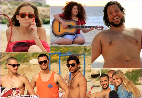 """<font color=""""#8e008e""""><strong><font color=""""#2851cc"""">First days of summer.</font> the days are getting longer and the blue colored sea invites beautiful people to the shores of Ashqelon. The sunny worm rays of sun brightnes friends eyes and spreading their smile. Click on main photo to watch a celcetion of album from March and April 2012</strong></font>"""