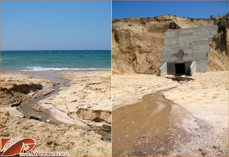 "<font color=""#003366""><strong><font color=""#a30000"">Sewerage running to the blue sea in Ashqelon.</font> for nearly a week, in the start of April 2012, the local beach and sea were poluted because of &quot;malfunction error&quot; in the sewerage system. until thelocal authority recognized in that, the damage was allready beyond recovery. <a href=""http://streamer.co.il/news/view/326/""><font color=""#a30000"">Stop the Polution of the sea!</font></a></strong></font>"