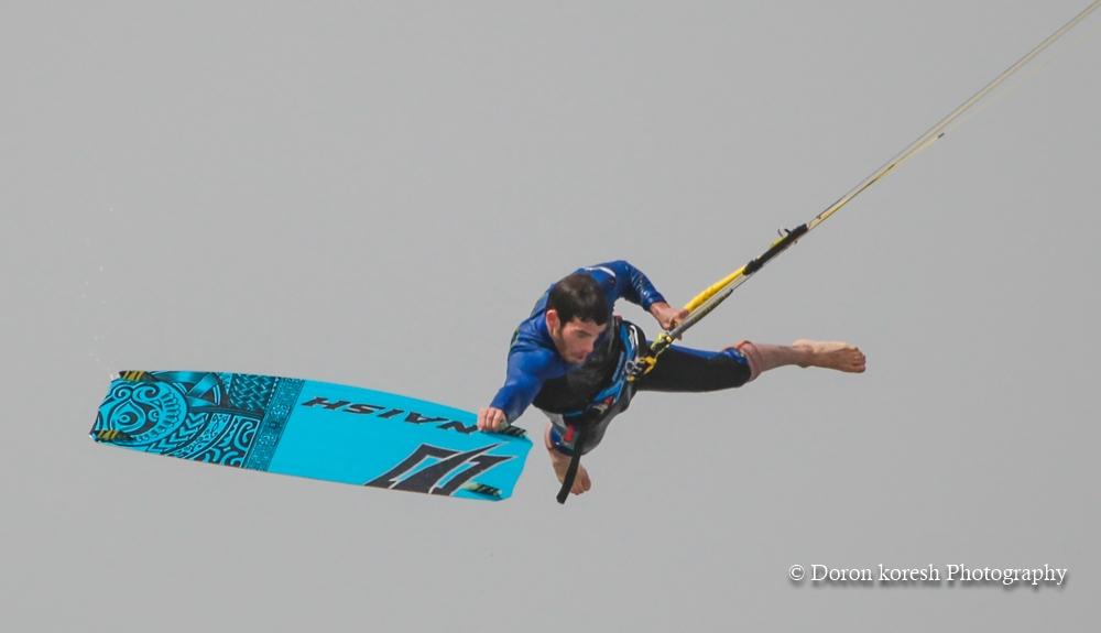 לישי מילר נמתח עד הקצה בתחרות king of the air time 2015 בה זה במקום הראשון.