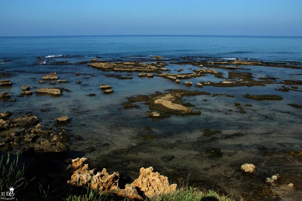 אחרי ימים ארוכים של קור וגשם השמש יצאה והים נרגע, יצאתי לצלם את אחד החופים היפים בישראל. חוף ג'אסר. אמצע ינואר.